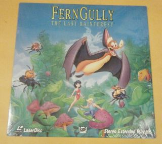 GULLY THE LAST RAINFOREST Laser Disc Tim Sexton Becky Mancuso 92 RARE