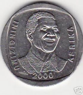 South Africa Mandela R5 Circulated 2000 Coin