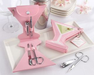 24 Bridal Baby Shower Favors Martini Manicure Sets