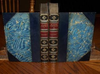 1908 LE MORTE DE ARTHUR Darthur Malory King Arthur Rare Antique Books
