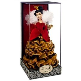 Queen of Hearts Disney Villains Designer Collection Doll LIMITED