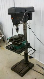20 Craftsman industrial floor drill press with XY table   2HP   3/4