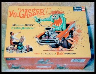 MR. GASSER model ed Roth BIG DADDY revell kit vintage hot rod cars