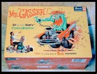 MR. GASSER model ed Roth BIG DADDY revell kit vintage hot rod cars