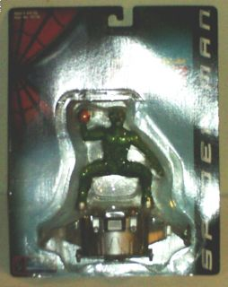 2001 Spider Man Green Goblin Bump & Go Cycle Toy Biz Official Movie