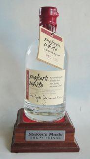Makers Mark White Dog Signed Rob Samuels 2011 Bourbon