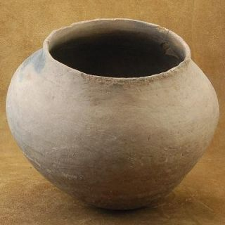 Hand Coiled Functional Native American Maricopa Pottery Vase