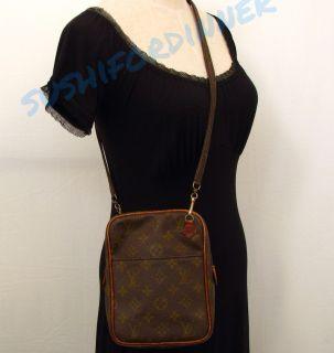 Monogram RARE Vtg Petit Marceau Shoulder Messenger Bag Handbag