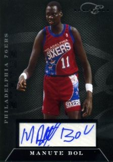 10 11 Elite Black Box Manute bol Auto 24 49 2010 11 Panini