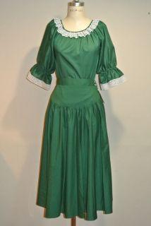 MALCO Modes Square Dance Dress Skirt Blouse Small Medium