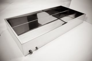 24 x 36 x 8 Stainless Maple Syrup Evaporator Pan
