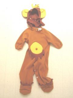 Kids Halloween Costume Baby Monkey Outfit Sz Infant