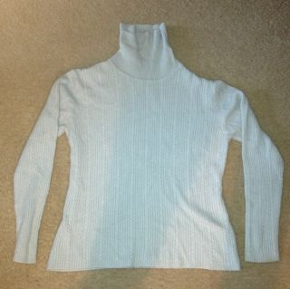 Long Sleeve Cashmere Sweater  Size L