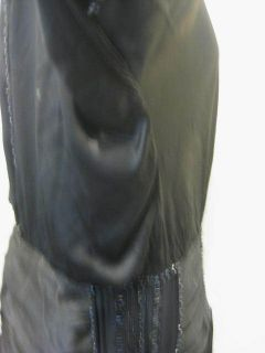 Vtg Antique Titanic Era 1910 20 Maid Marion Black Silk Satin Dress w