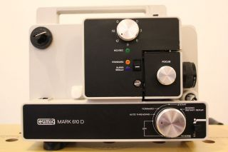 Eumig Movie Projector Mark 610 D Reg 8mm and Super 8mm