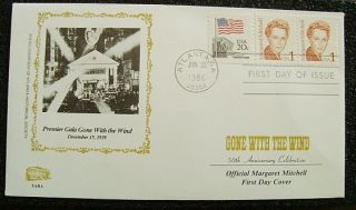 Margaret Mitchell FDC 2168 Gone with The Wind 1st