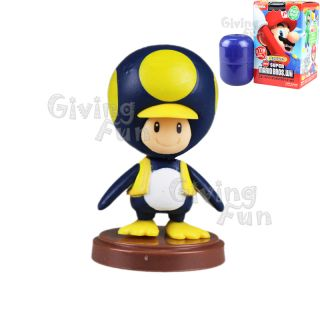 2012 Super Mario Bros Penguin Toad Action Figure Toy Wii Vol 3