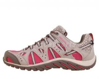 Merrell Waterpro Manistee Drizzle Grey Pink Womens Outdoors Water