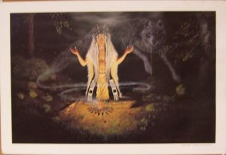Charles Chapman Print Kindred Spirit Signed Limited Ed