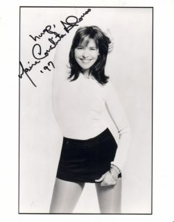 Maria Conchita Alonso Signed Sexy in Mini Skirt Younger