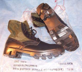 Military Vietnam Hiking Hunting Work Sport JUNGLE COMBAT BOOTS Panama