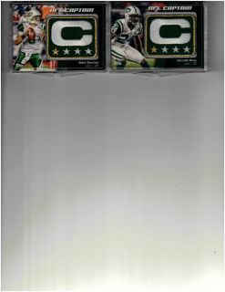 Mark Sanchez New York Jets 2012 Topps NFL Captain Patch Relic NCP MS