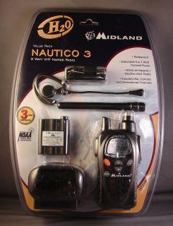 Midland NT3VP Nautico Waterproof Marine Handheld Radio New