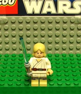 STAR WARS LEGO  MINI FIGURE  MINI FIG   LUKE SKYWALKER WITH SABER