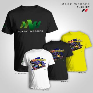 Mark Webber Webbo F1 Champion T Shirt Shirt