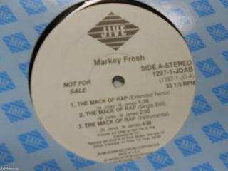 Markey Fresh The Mack of Rap Random Rap 12 Promo