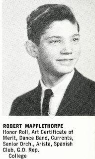 Robert Mapplethorpe High School Yearbook Senior Year