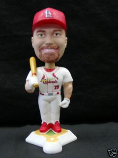 Mark McGwire White SGA Bobblehead St Louis Cardinals