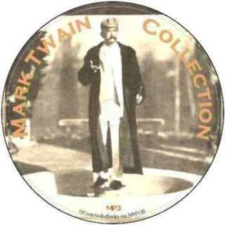 Mark Twain Collection 21 Audio Books on 2 DVDs Audio  Files