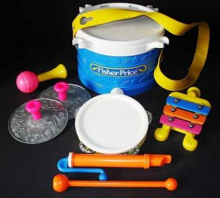 Fisher Price Marching Band Musical Instrument Set 921 ★
