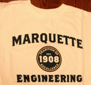 Discounted $12 Delivered Marquette Golden Eagles Engineering NCAA T