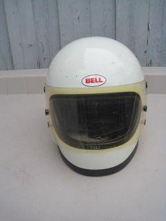 Vintage Bell Helmet Motorcycle Snowmobile Star III 3 Snell 75s 6 7 8