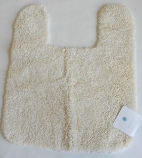 Martha Stewart Nonskid Contour Bath Mat Rug Cream