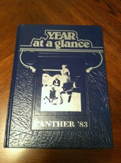 1983 Panther High School Yearbook Marseilles Illinois