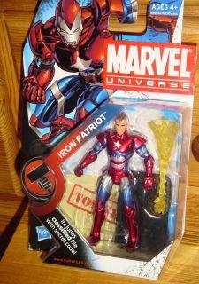 Marvel Universe  Iron Patriot  Variant Legends Figure