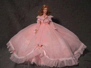 Mary Elizabeth Barbie Dress Doll Clothes Patterns 6033F