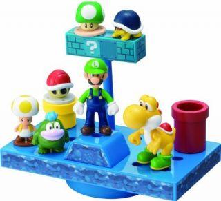 Mario Figures NEW Super Mario Bros Wii balance stage underground world