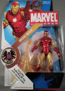 Hasbro Marvel Universe Action Figure Wave 15 Revision 2 Iron Man 2011