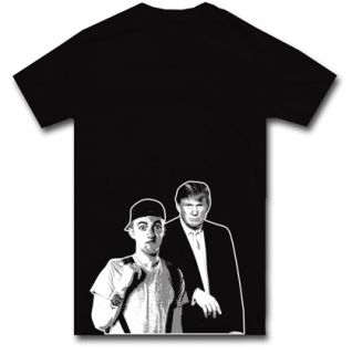 Mac Miller Donald Trump T Shirt Wiz Khalif s M L XL 2XL