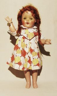 Mary Ann 19 Effenbee Composite Doll 1930S