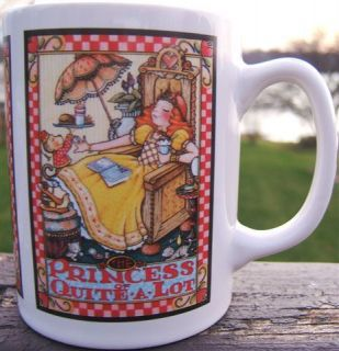 Mary Engelbreit The Princess of Quite A Lot Ceramic Coffee Mug