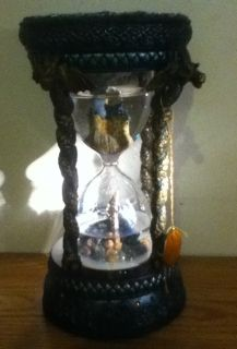 Marjorie Sarnat Limited Edition Crystal Visions Dragon Hourglass