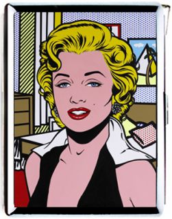 Marilyn Monroe Sexy Star Pop Arts Retro Vintage Cigarette Case Lighter