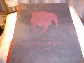 Marysville Kansas KS High School Yearbook 1938 The Bulldog