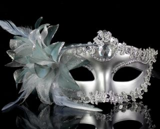 Flower Venetian Costume Masquerade Princess Party Prom Mask
