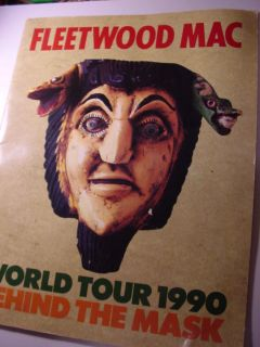 Fleetwood Mac 1990 Tour Book